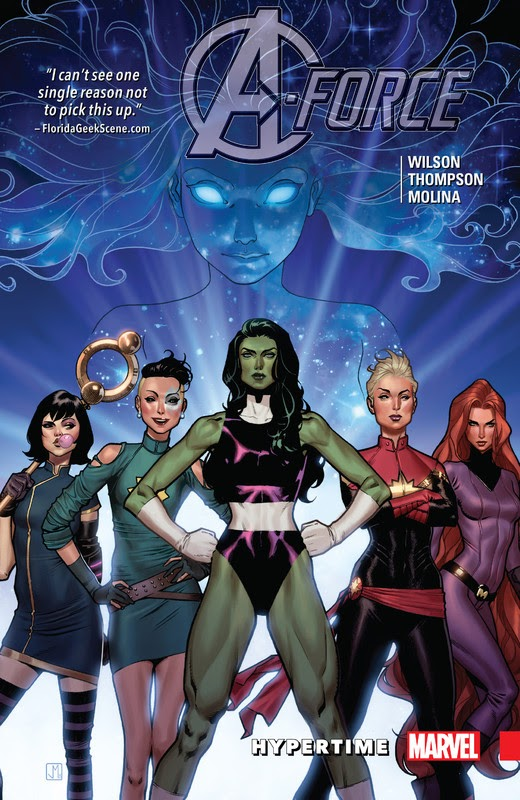 A-Force: Collected Editions (2016) - complete