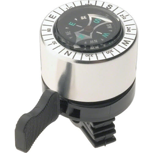 Dimension Compass Bell Silver and  Black