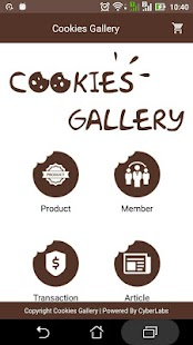 BCS Cookies Gallery - náhled