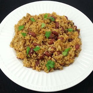 Quinoa and Kidney Beans Pilaf.