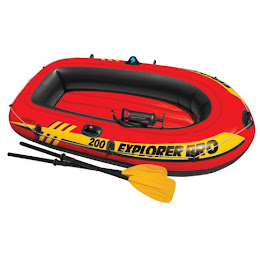 Barca pneumatica Intex 58356NP Explorer, 2 persoane, 196 x 102 x 33 cm