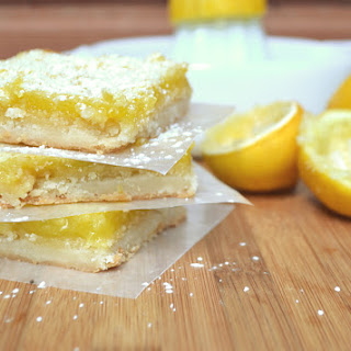 Sweet and Tart Lemon Bars Recipe