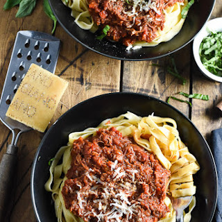 Crock Pot Leftover Turkey Bolognese