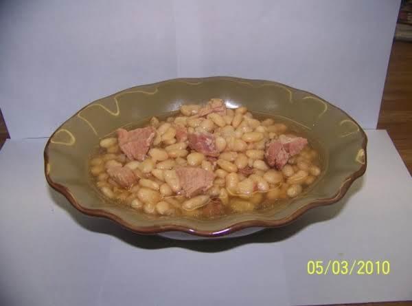 White Beans And Ham