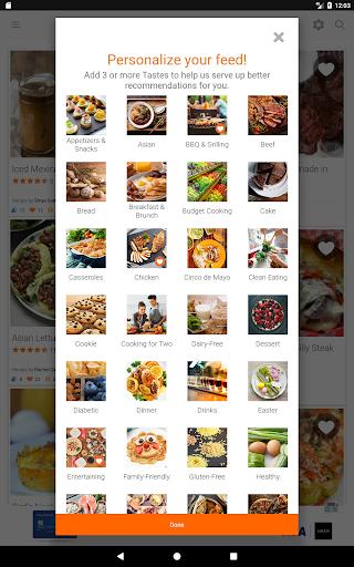 Allrecipes.com Dinner Spinner screenshot 9