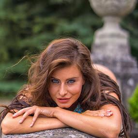Catch me by Tatjana GR0B - People Portraits of Women (  )