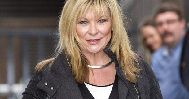 Claire King struggles to learn lines