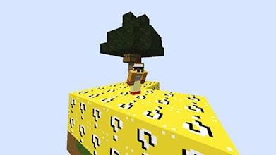 Lucky Block Tree - Skyblock maps for Minecraft pe 1 0 latest