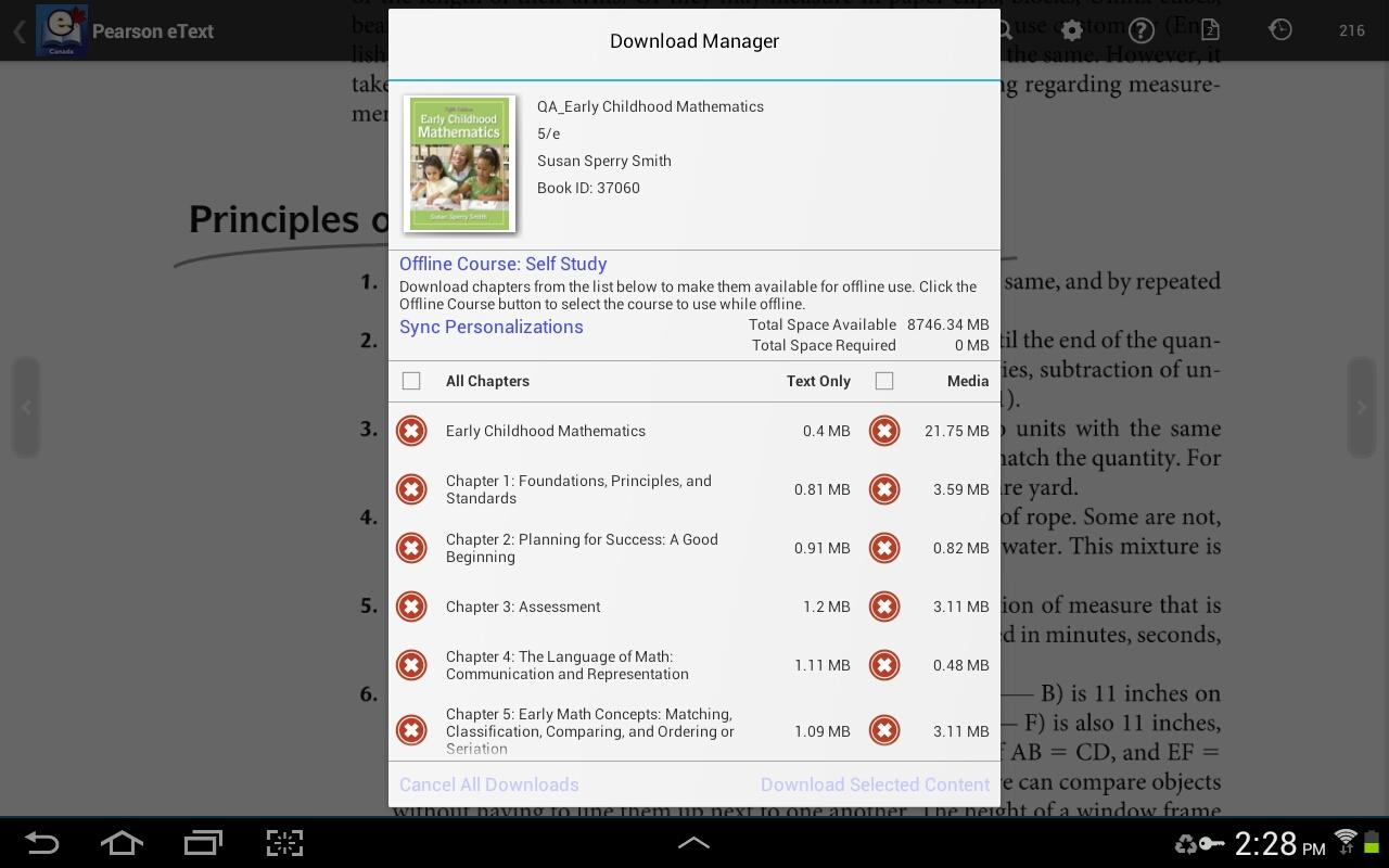 Pearson eText for Canada- screenshot