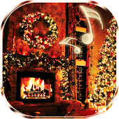 Christmas Fireplace Live Wallpaper
