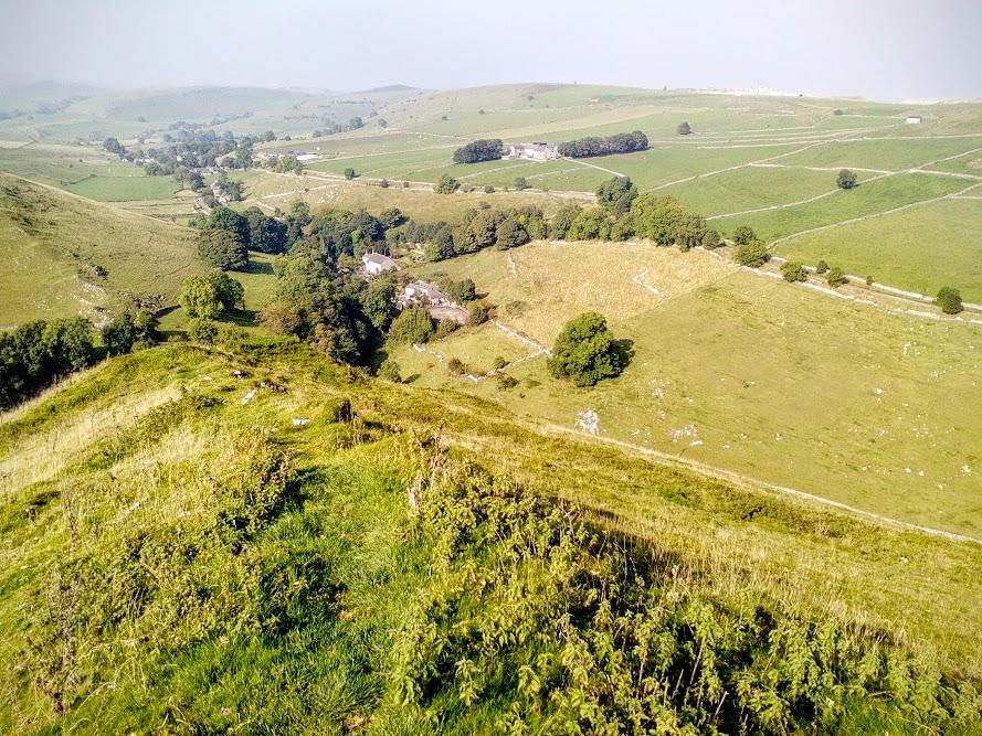 High Wheeldon ridge