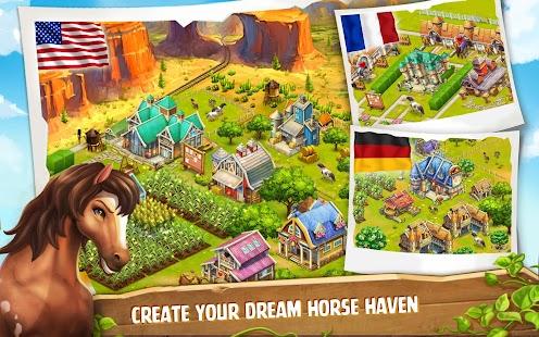 8 Horse Haven World Adventures App screenshot
