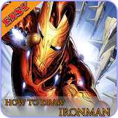 How To Draw Ironman EZ