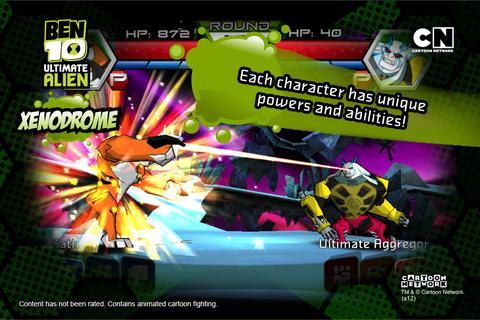 Ben 10 Xenodrome screenshot 4