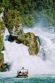 Рейнский водопад высотой 23 м