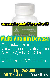 multi vitamin dewasa