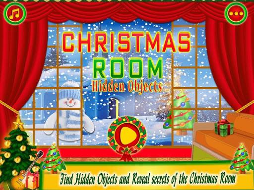 Christmas Room Hidden Object