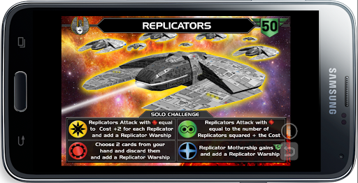 Replicators Solo Challenge
