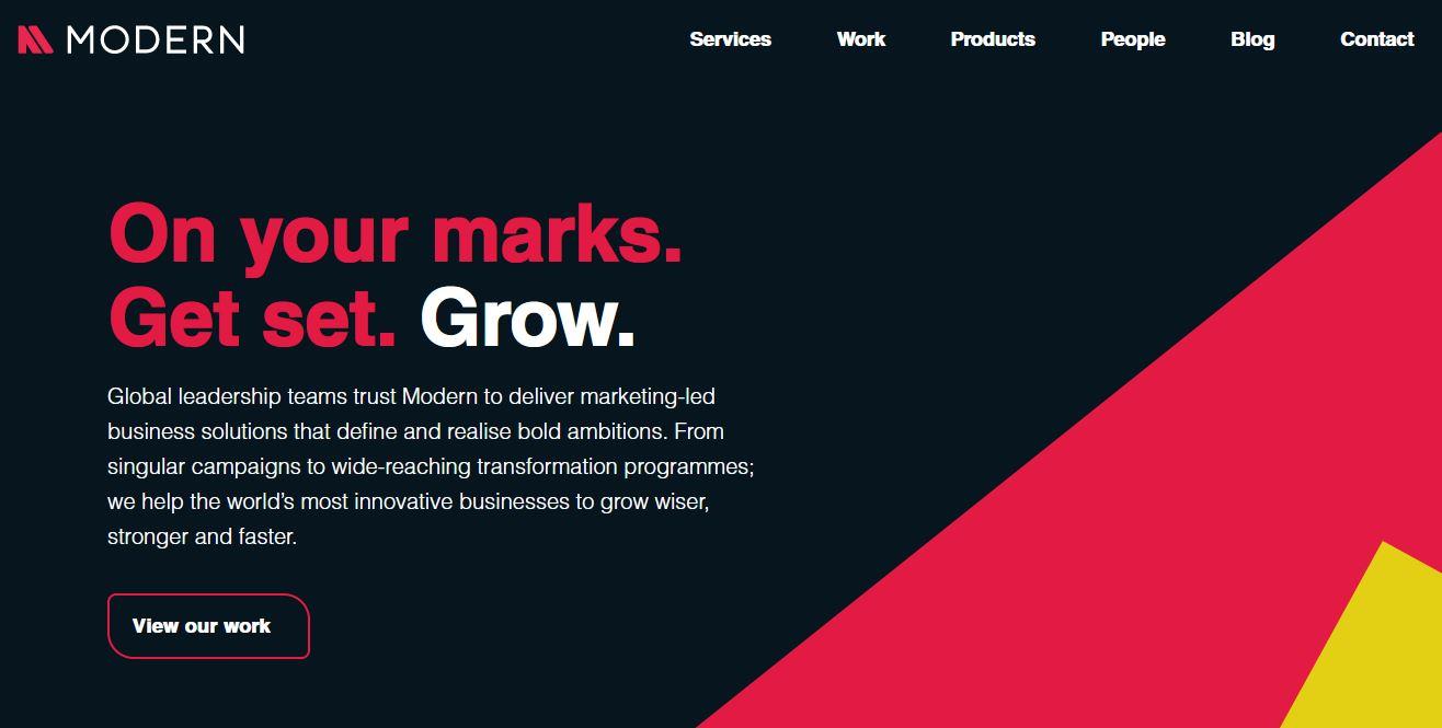 B2B Digital Marketing Agency - Modern