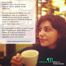 Photo: Teresa Iniesta, alumna de la segunda edición del Máster (2004/2005). Instituto Cervantes de Tokio.