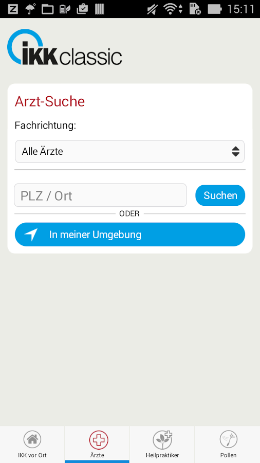 Meine IKK- screenshot
