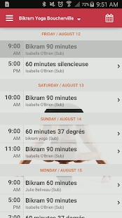 Bikram Yoga Boucherville- screenshot thumbnail