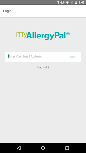 myAllergyPal®- screenshot thumbnail