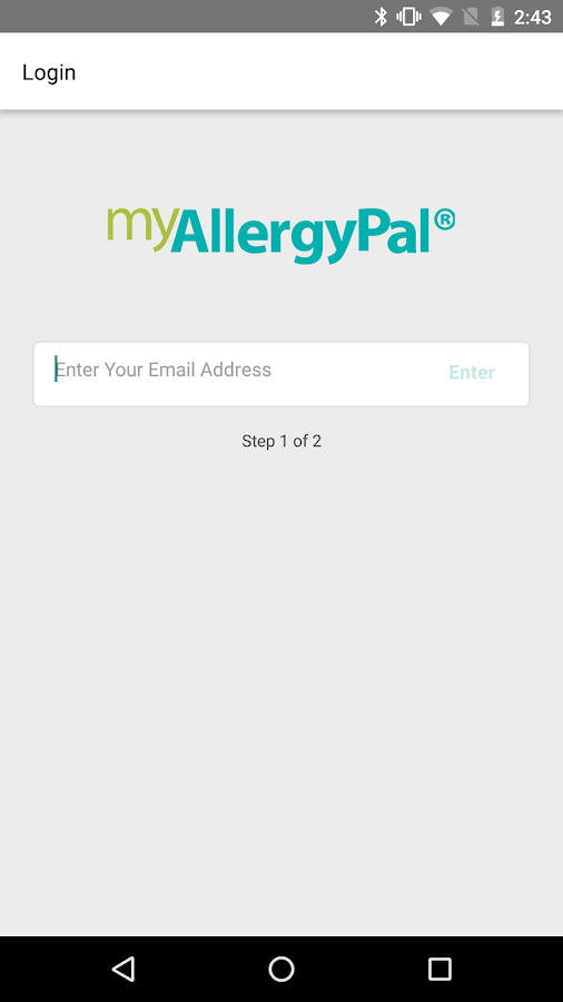 myAllergyPal®- screenshot