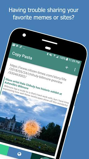 Copy Pasta Universal Copy & Paste Clipboard ss1