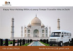 Enjoy Your Holiday With a Luxury Tempo Traveller Hire in Delhi