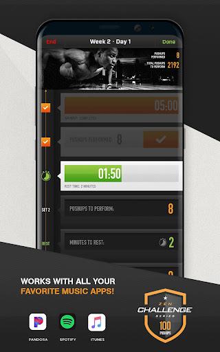 0-100 Pushups Trainer 4.5 screenshots 4