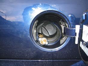 Photo: Tankanschluss