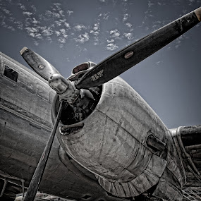 grit by Curtis Jones - Artistic Objects Other Objects ( propeller, plane, airplane )