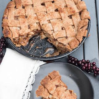 Vegan Whole Wheat Apple Pie