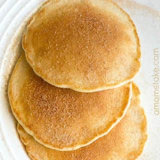 Maple Cinnamon Pancakes.
