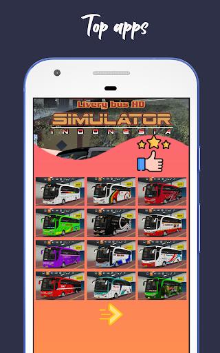Livery Bus HD Simulator Indonesia 1.2 screenshots 2
