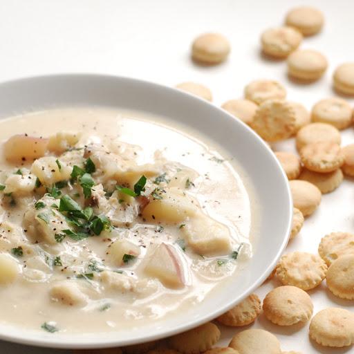 10 best maine haddock chowder fish chowder recipes for Best fish chowder recipe