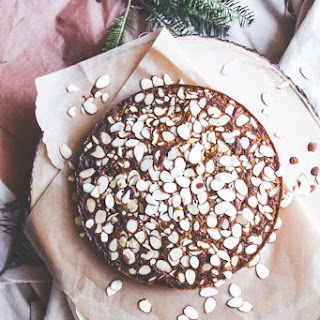 Cardamom Brown Butter Almond Cornmeal Cake