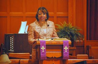 Photo: Rev. Anges Denise Bell