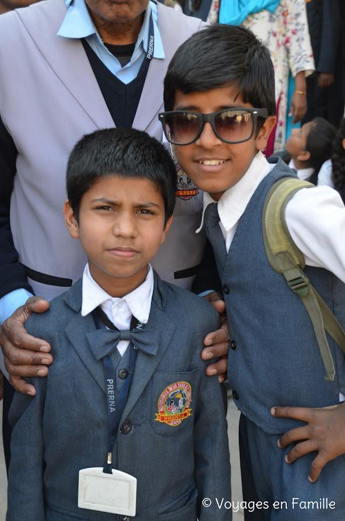 Kumbhalgarh, jeunes gars
