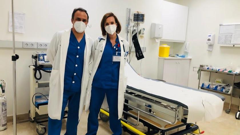 Dr. Pablo Berenguel y Dra. Violeta Rodríguez Vithas Almeria.