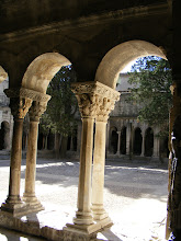 Photo: The cloister was built for the priests who attended the bishop and managed the church property. Under a papal decree, the priests lived like monks, with a common dormitory, refectory and cloister inside the cathedral enclosure, and further separated from the city by a wall.