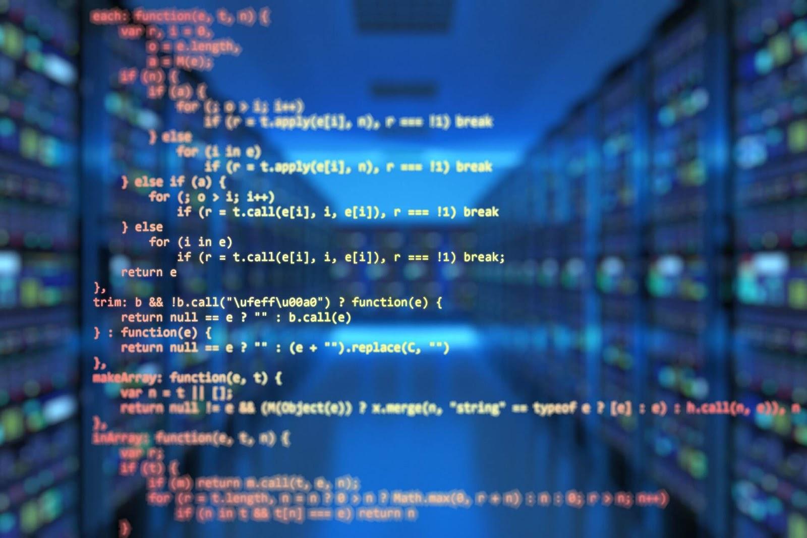 プログラミング コードの画像で「知識」を連想