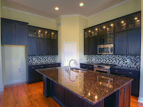 Photo: The kitchen in the LEIGHTON