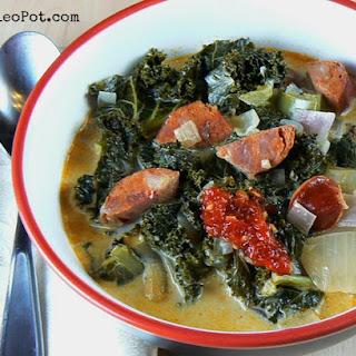 One-Pot Chorizo and Kale Soup