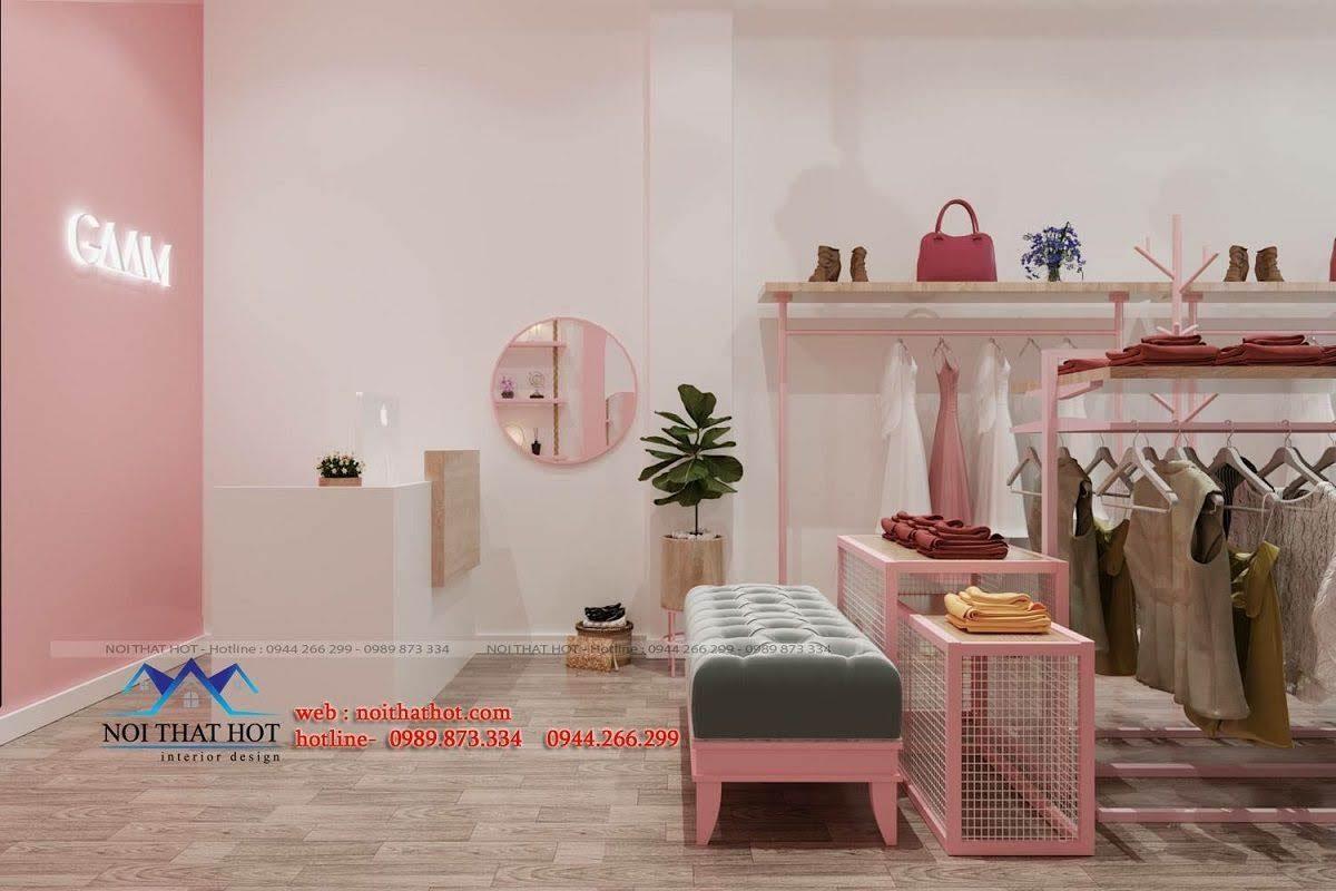 thiết kế shop thời trang gaam 2