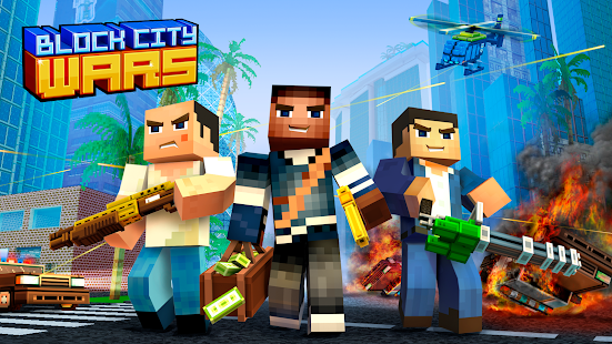 Game Block City Wars: Pixel Shooter with Battle Royale APK for Windows Phone