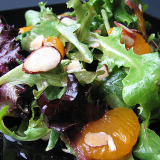 Spring Greens with Asian Pear Dressing.