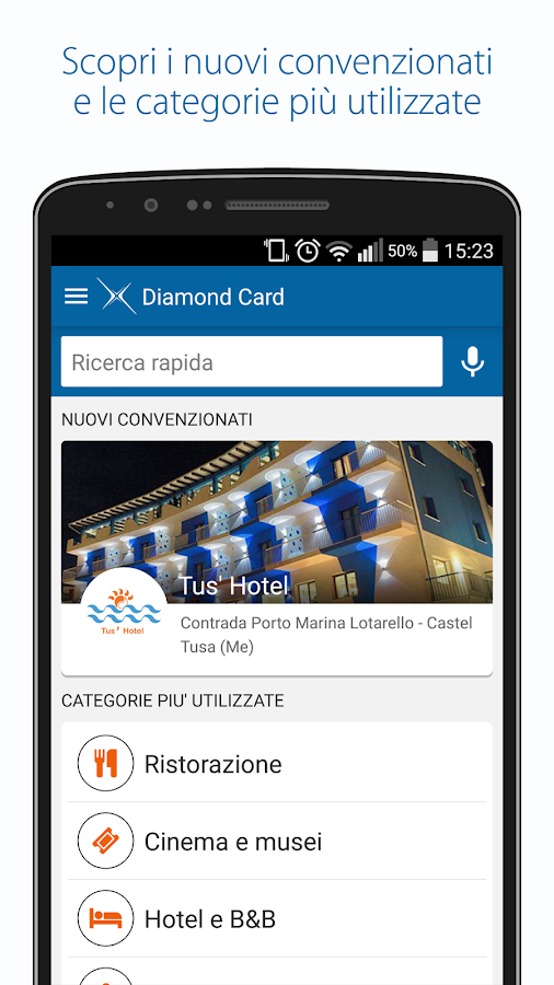 Diamond Card- screenshot