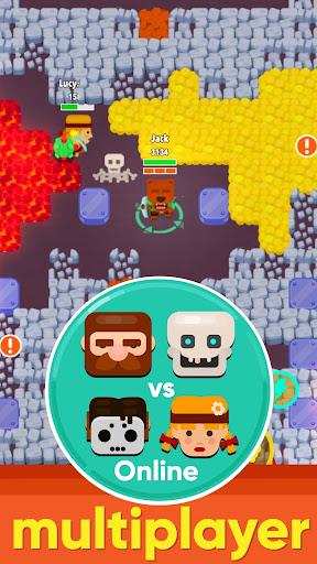 Dig Bombers: battle bomber arena PvP multiplayer APK MOD – Monnaie Illimitées (Astuce) screenshots hack proof 2
